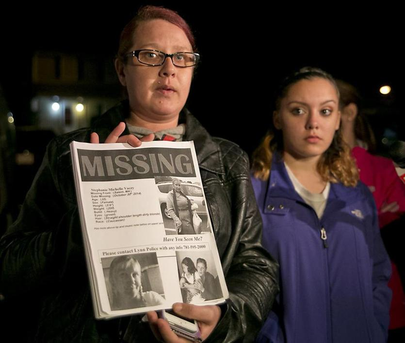 On Monday, Karissa Vaczy (left) talked about her sister, Stephanie Michelle Vaczy, who had been missing since October 30. On Tuesday, Karissa posted on her Facebook page that Stephanie had been located.